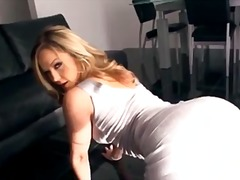 Alexis Texas, nabyskoot, babe, blond, solo, groot gat, groot gat, softcore, terg, pornstêr