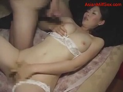 asiër, japanees, milf, ouer vrou, japanees, ouer, ma, dame, ouer