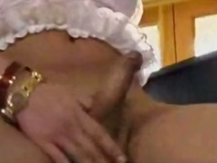 bj, oraal, shemale, blond, titjob
