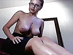 milf, webcam, solo